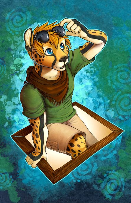 Sky Cheetah Badge by Zhivago