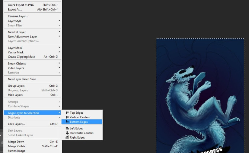 PS Script for Artists: Automatic WIPMaker