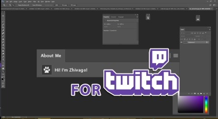 Photoshop Bars for Twitch