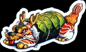 OG Dragon Roll
