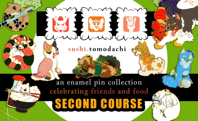 Sushi Tomodachi: Second Course is Coming!