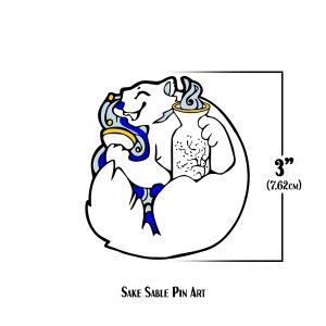Sake Sable Pin Art