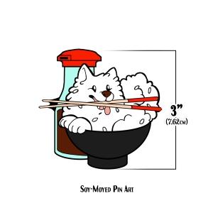 Soy-Moyed Pin Art