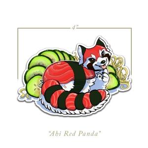 Ahi Red Panda