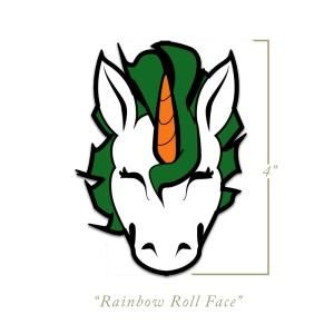 Rainbow Roll Head